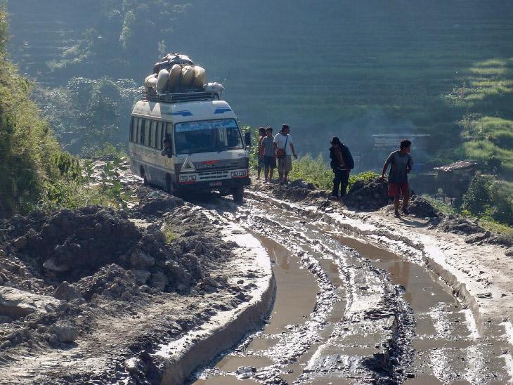 Шосе Карнали, Непал