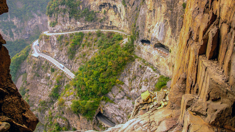 №5. Туннель Гуолянь, Китай