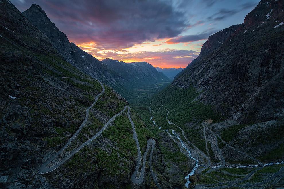 №4.  Тролльстіген, Норвегія