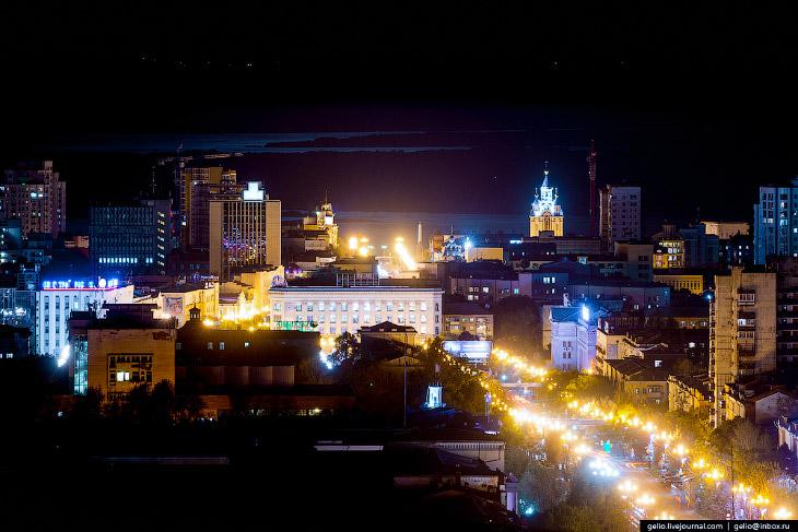 Хабаровск с высоты: город восходящего солнца