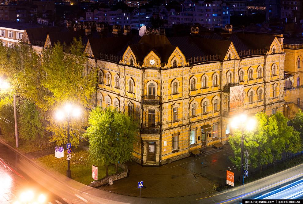 Бывший доходный дом купца 1-й гильдии Василия Плюснина