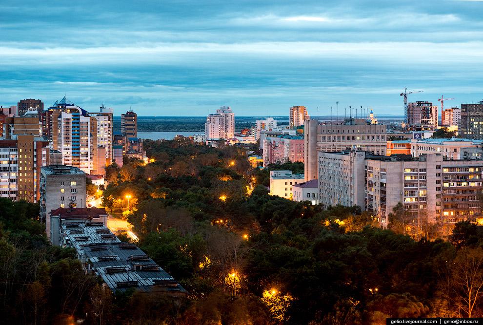 Второй большой бульвар Хабаровска — Уссурийский