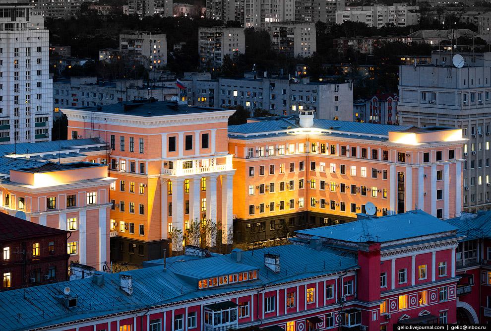 Здание Управления ФСБ России по Хабаровскому краю