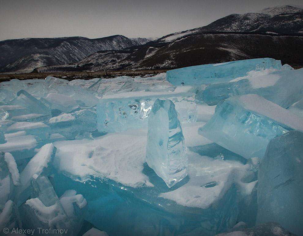 Лед у таинственного Рытого
