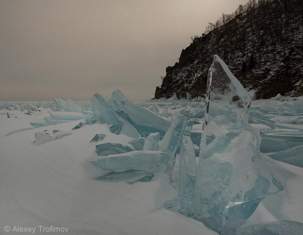 Лед у Саган-Моряна