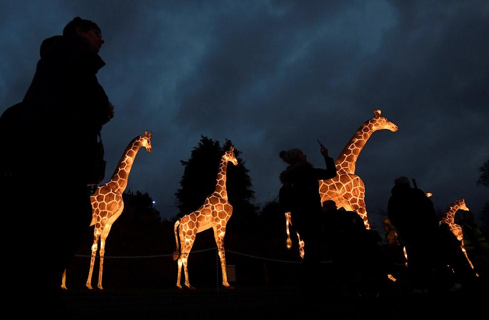 Китайского Фестиваль фонарей на юго-западе Великобритании