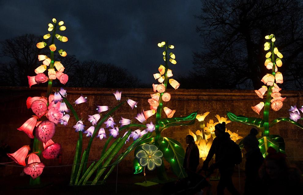 Китайский Фестиваль фонарей на юго-западе Великобритании