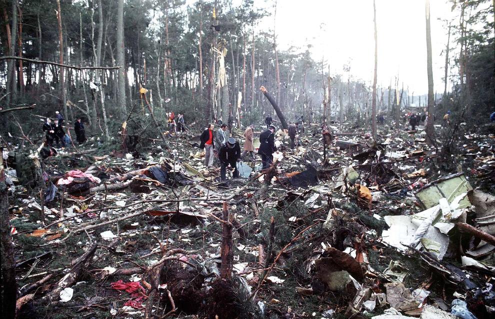 Катастрофа DC-10 под Парижем — 346 погибших