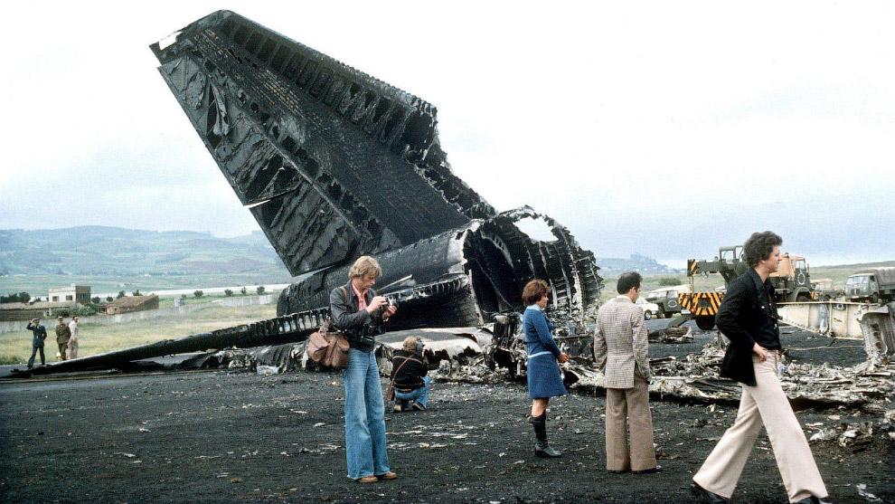 Столкновение в аэропорту Лос-Родеос — 583 погибших