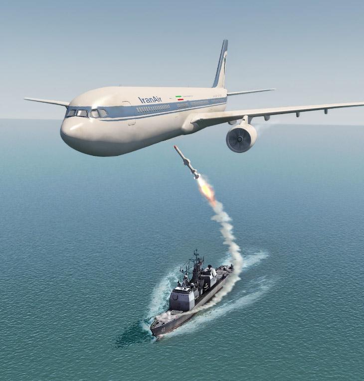 № 10. Катастрофа A300 над Персидским заливом — 290 погибших
