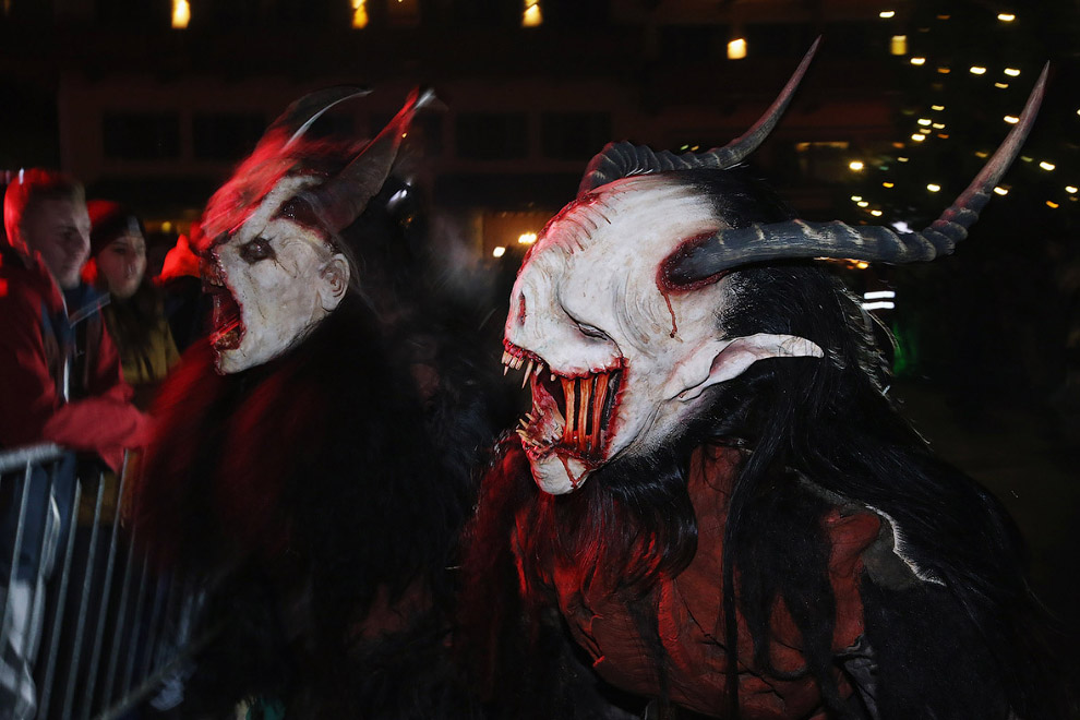 Дьявол или чёрт (Крампус)