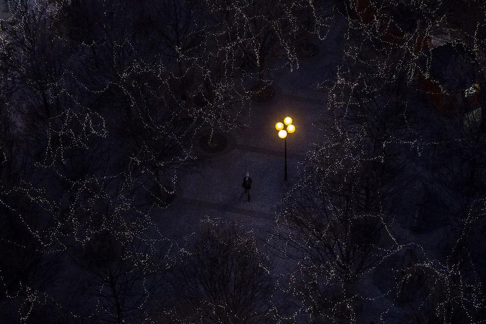 Таинственное место – эта предновогодняя Староместская площадь в Праге