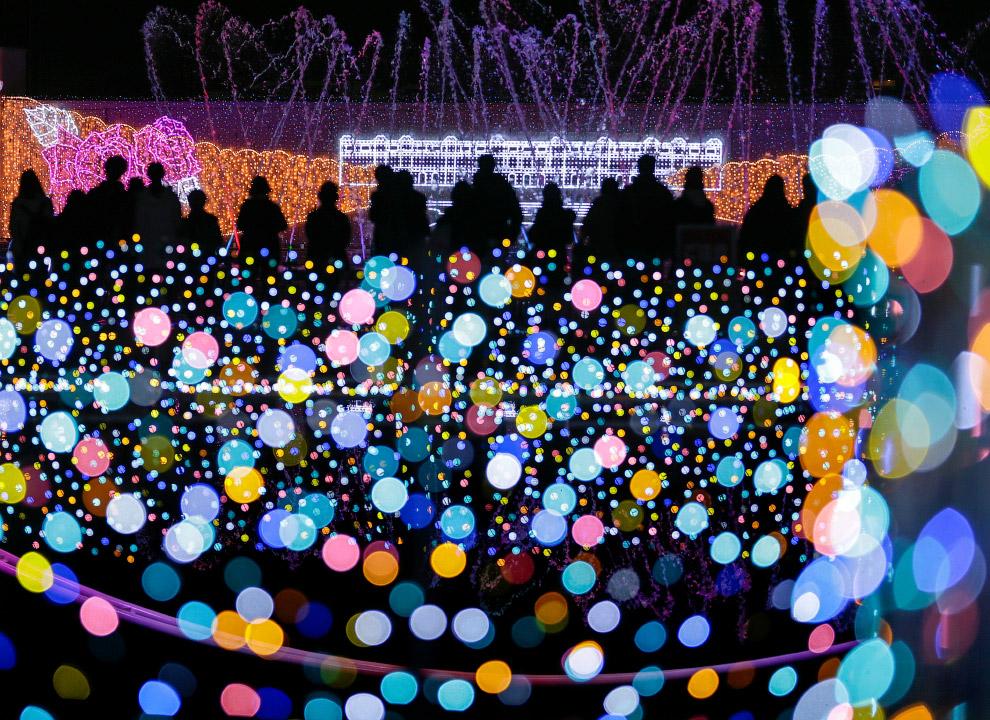 Парк развлечений в Токио