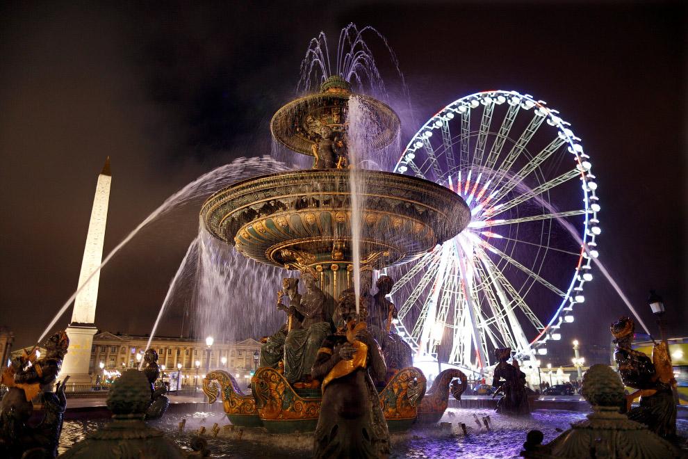 И снова Париж, площадь Согласия
