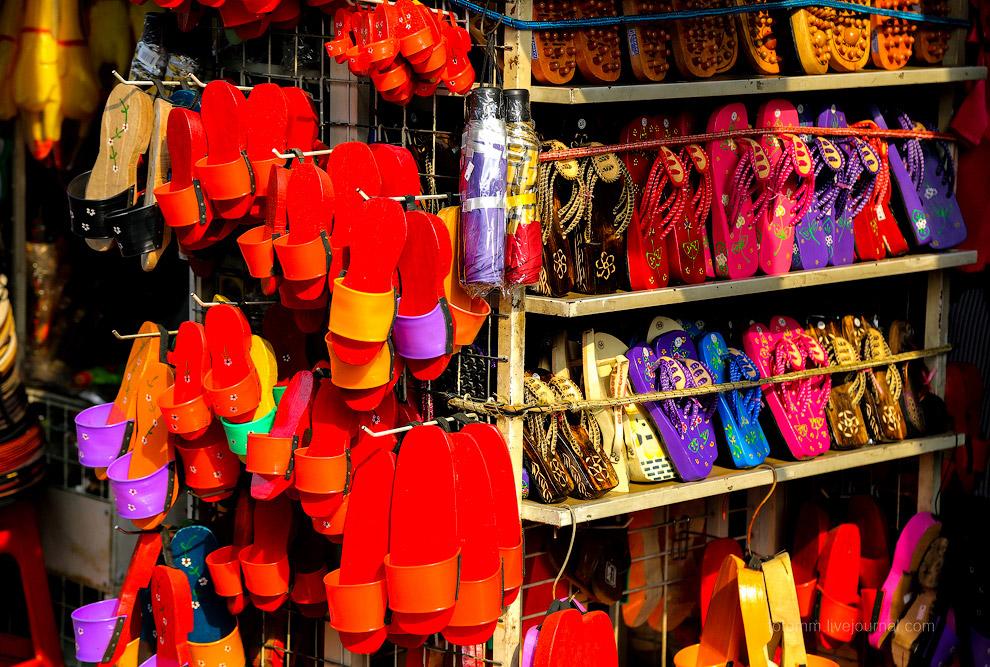 Малакка — цветной город Малайзии