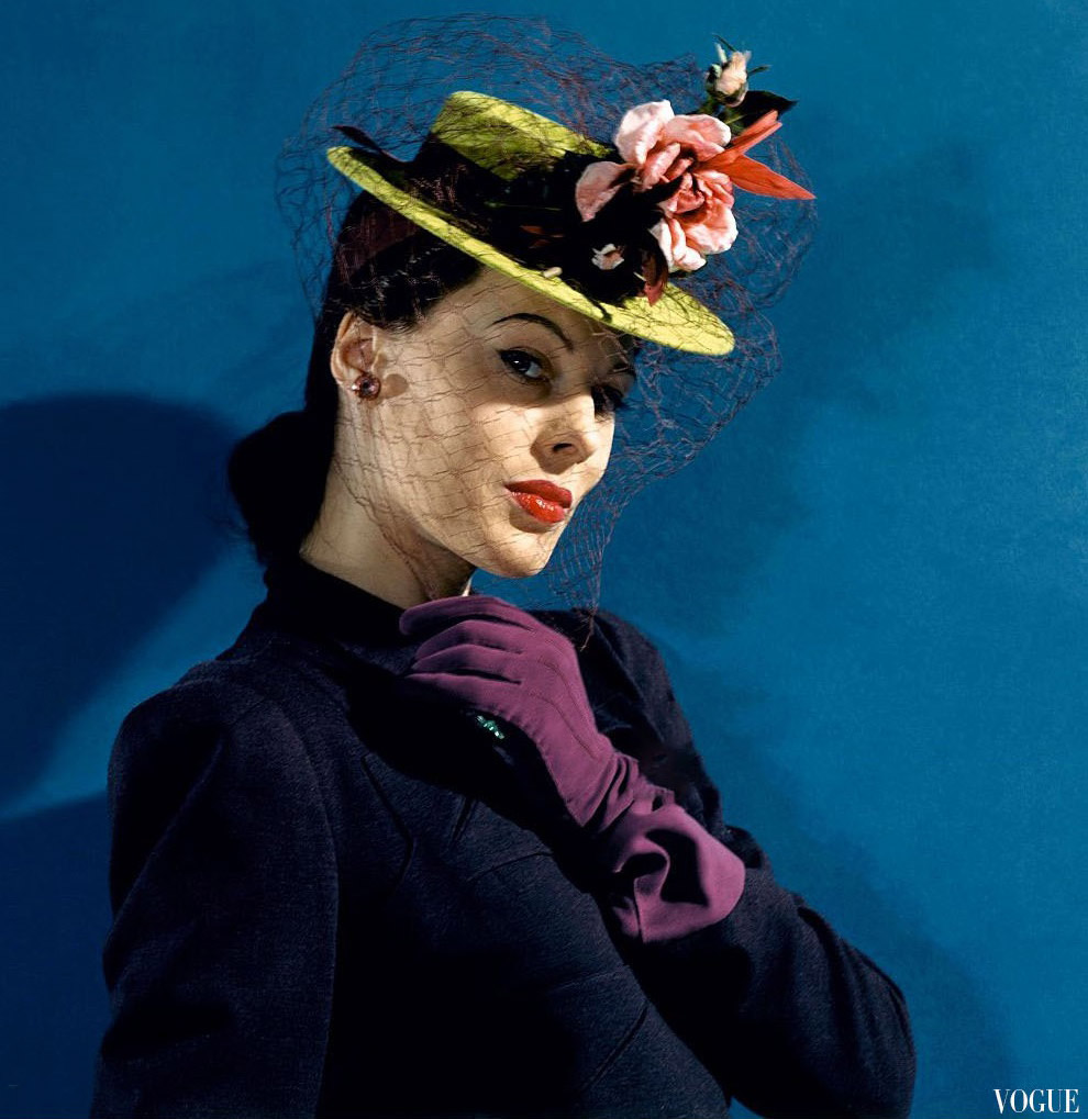 Из журнала Vogue, 1941 год.