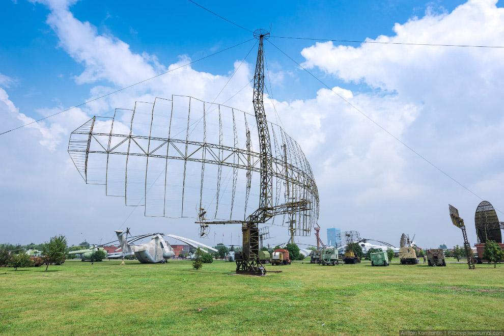 Радиолокационная станция.