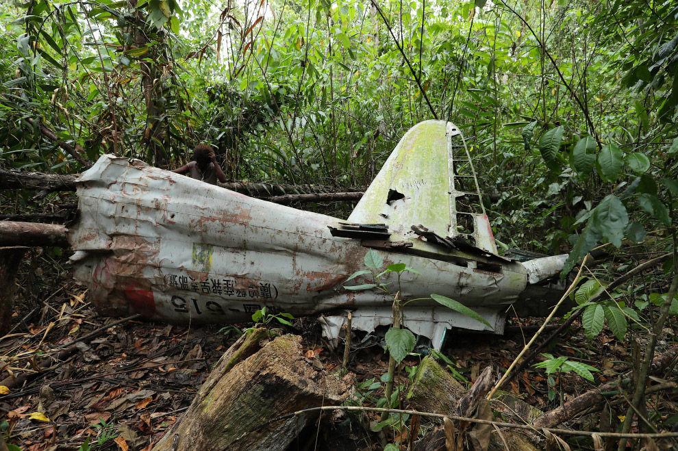 Обломки японского истребителя A6M, Соломоновы Острова