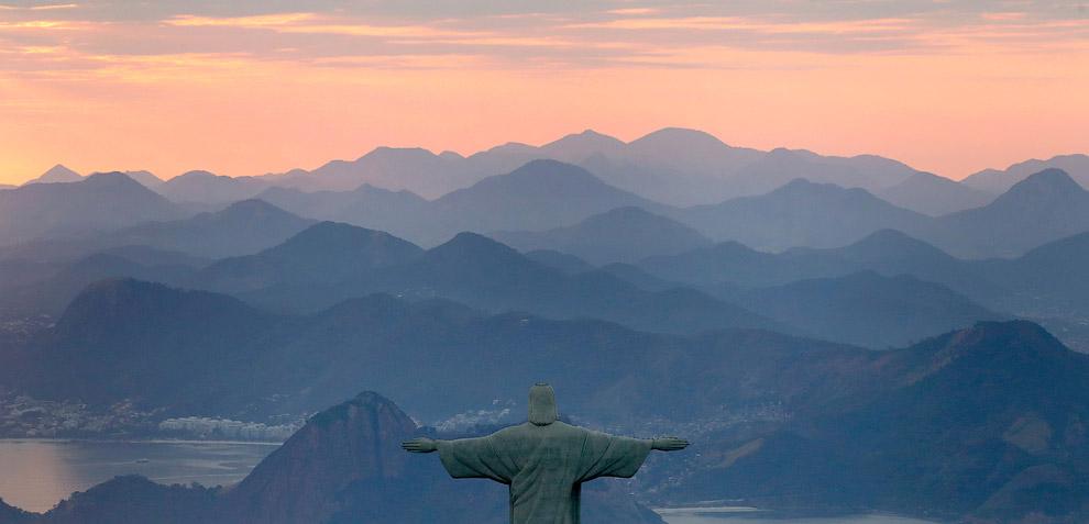 Статуя Христа-Искупителя в Олимпийском Рио