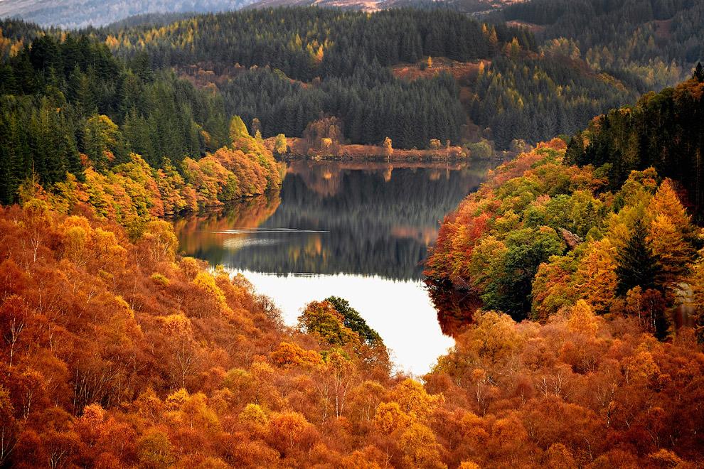 Золотая осень в Шотландии
