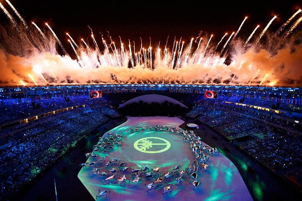 Церемония открытия Олимпийских игр 2016 в Рио