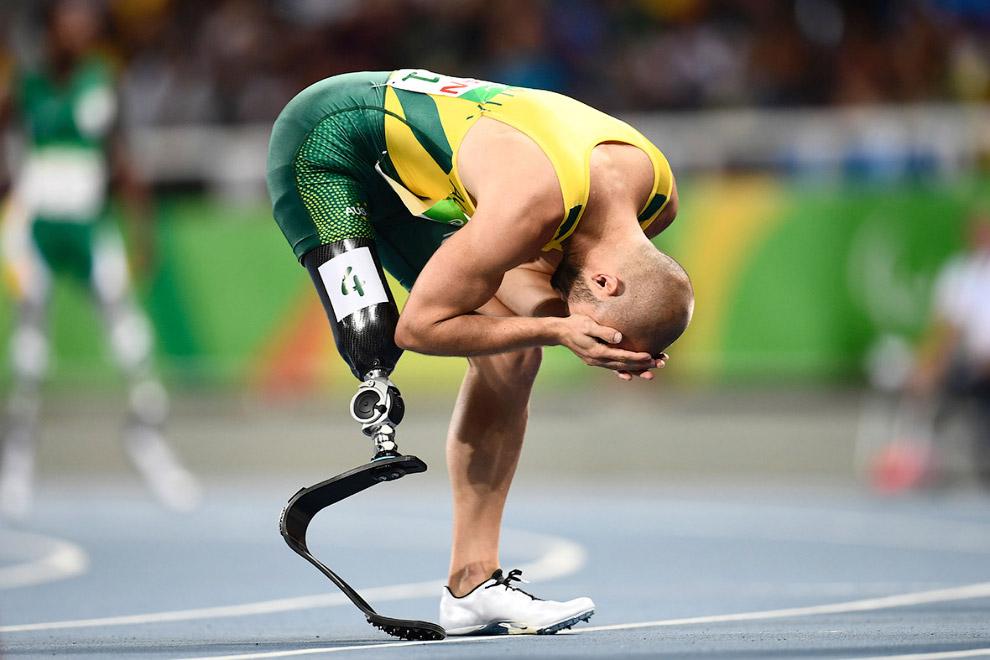 Австралиец Скотт Реардон победил на 100-метровке на Паралимпийских играх в Рио-де-Жанейро