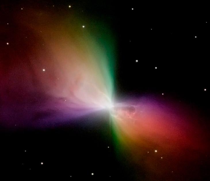 №10. Туманность Бумеранг – самое холодное место во Вселенной