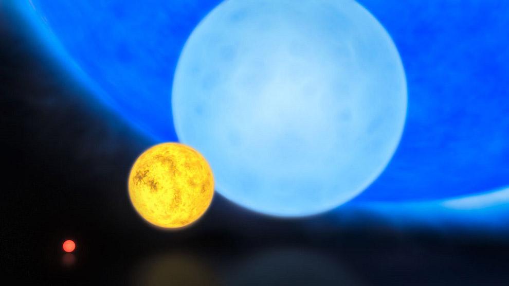 R136a1 — самая массивная звезда