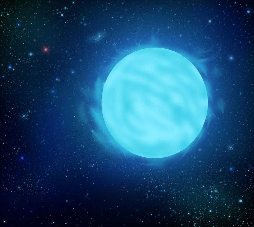 № 9. R136a1 — самая массивная звезда