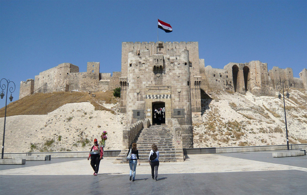 Историческая цитадель Алеппо