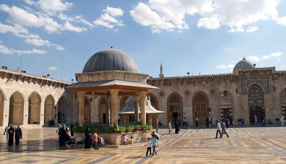 Великая мечеть Алеппо,