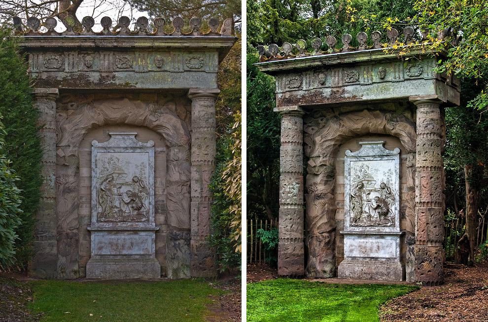 Памятник в Шагборо