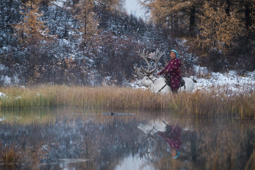 В гостях у сказки: жизнь на озере у Восточных Саян