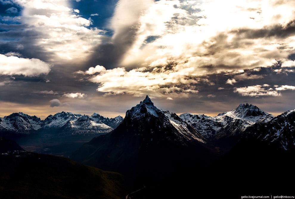 Монте-Оливия — самая высокая гора в департаменте Ушуая