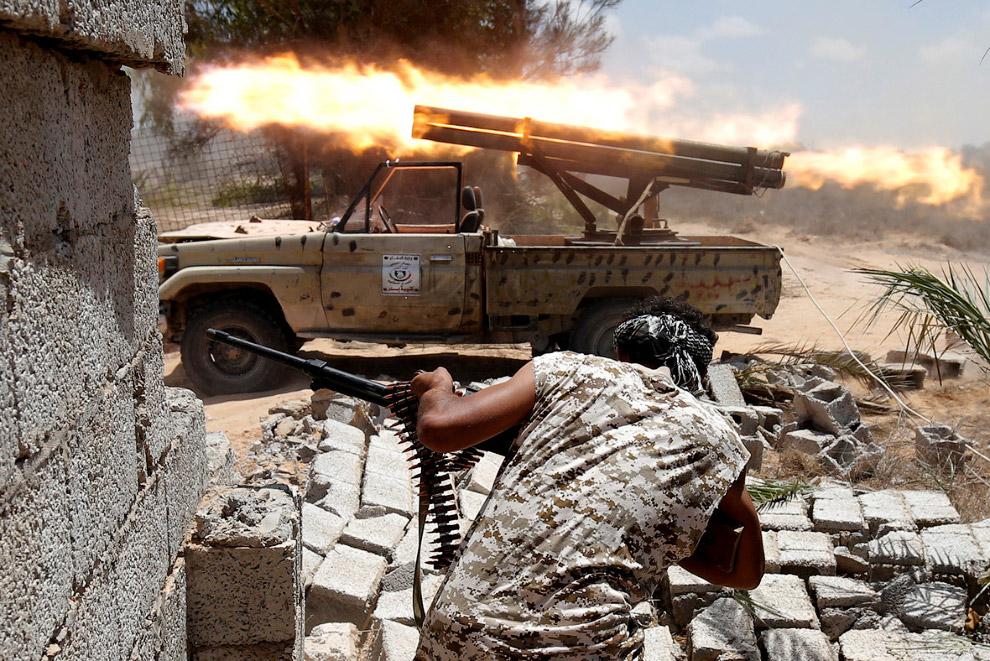 Бои в Сирте, Ливия