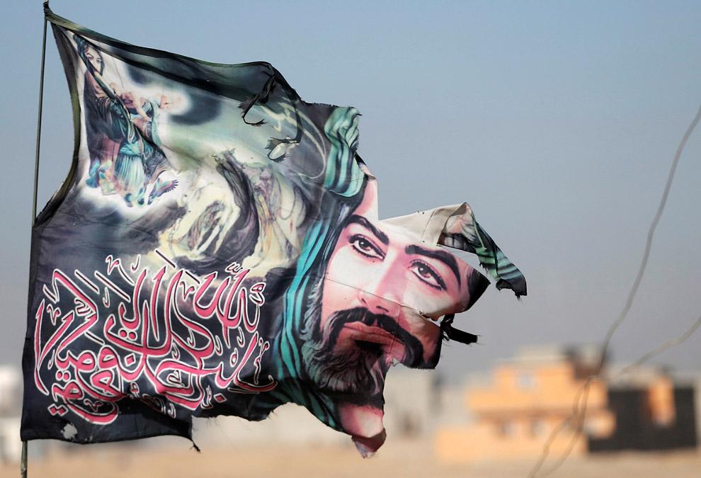 Флаг Имама Хусейна, Ирак