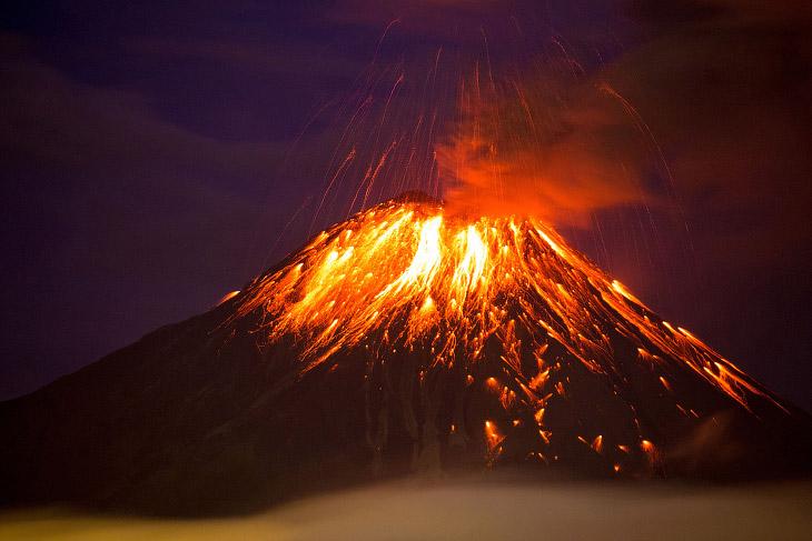 Извержения вулканов в 2016 году