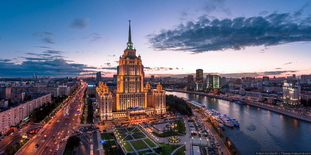 Гостница «Украина».