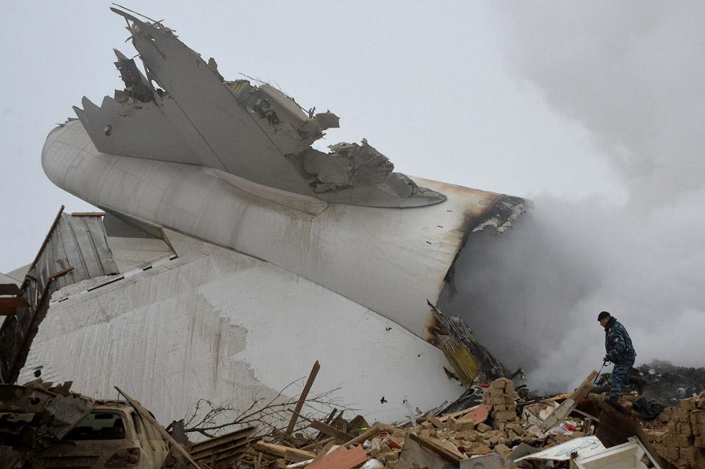 Упавший турецкий Boeing