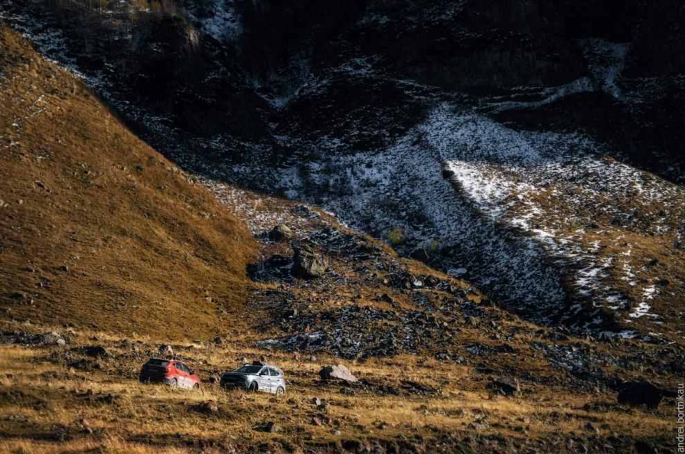 У горы Кабарджини