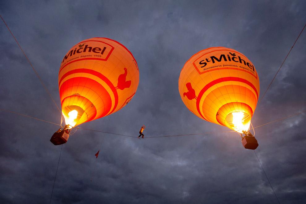 Прогулка двумя воздушными шарами на юге Франции
