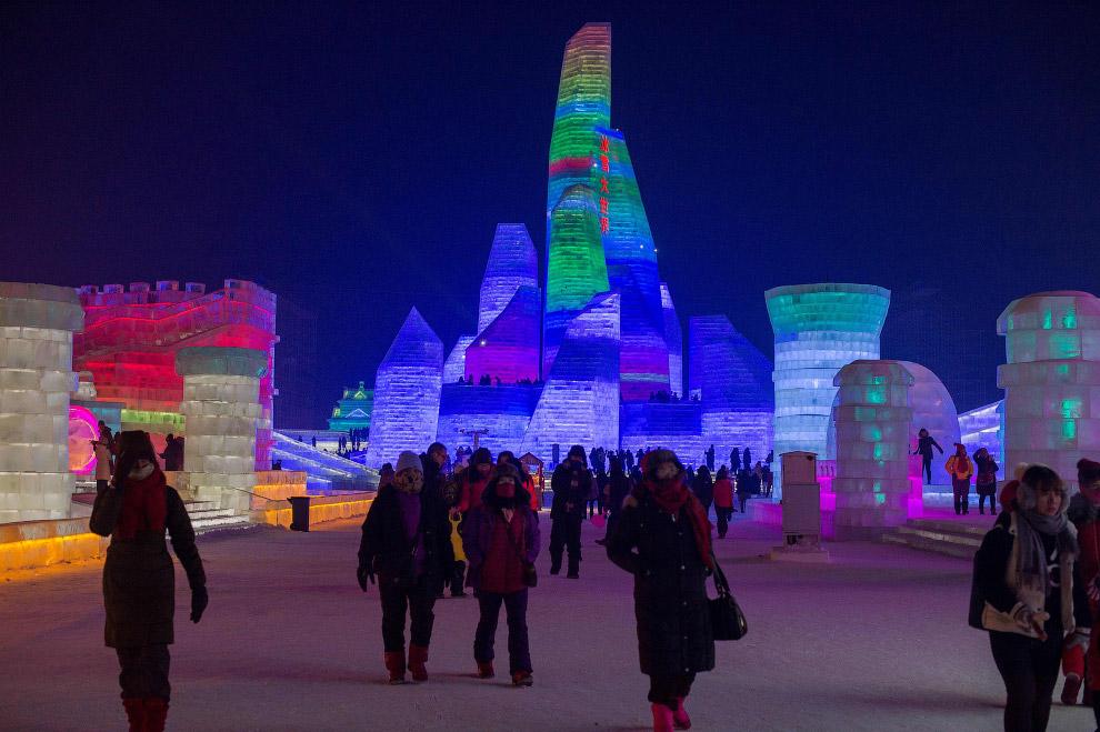 Фестиваль льда и снега в Харбине 2017