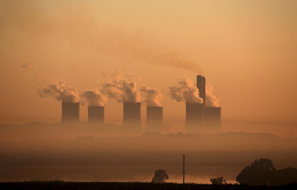 Угольная электростанция в Южной Африке