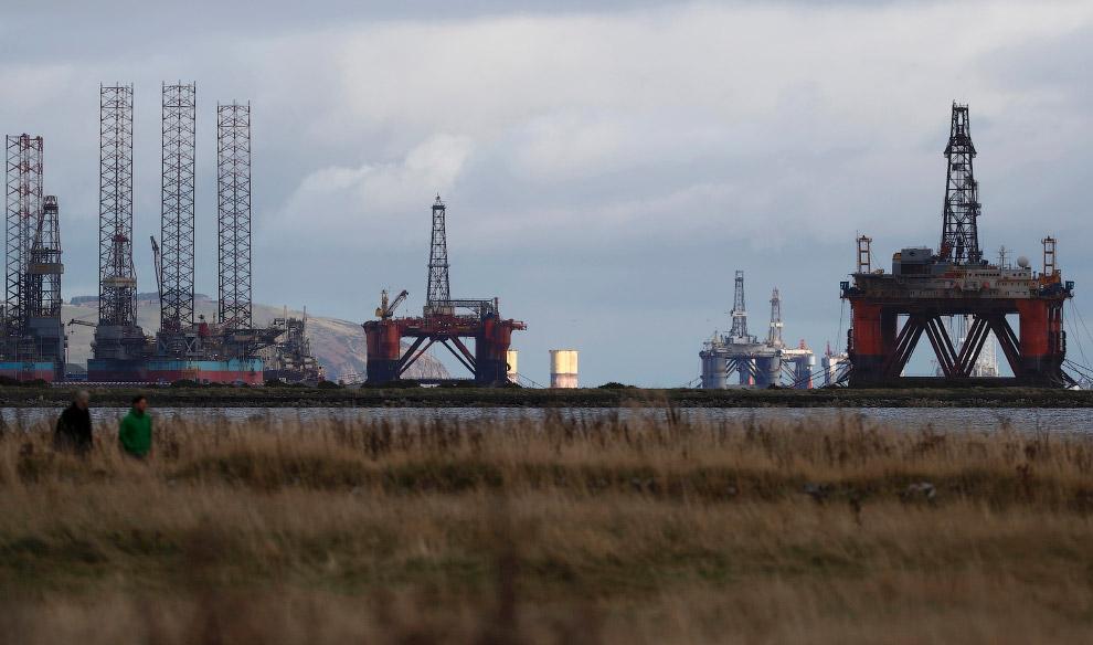 буровые установки в Шотландии