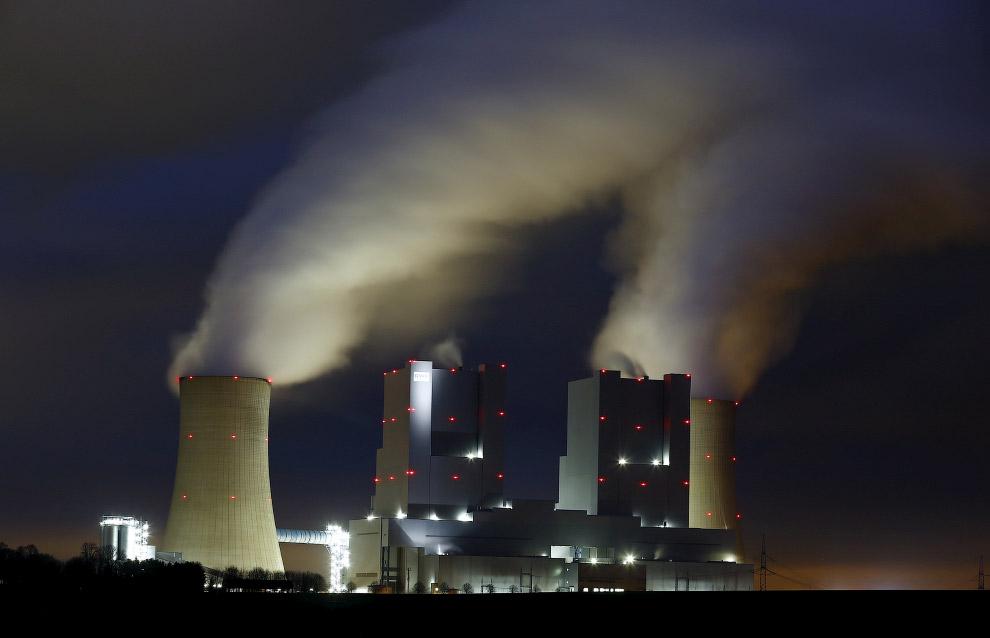 Электростанция в Германии