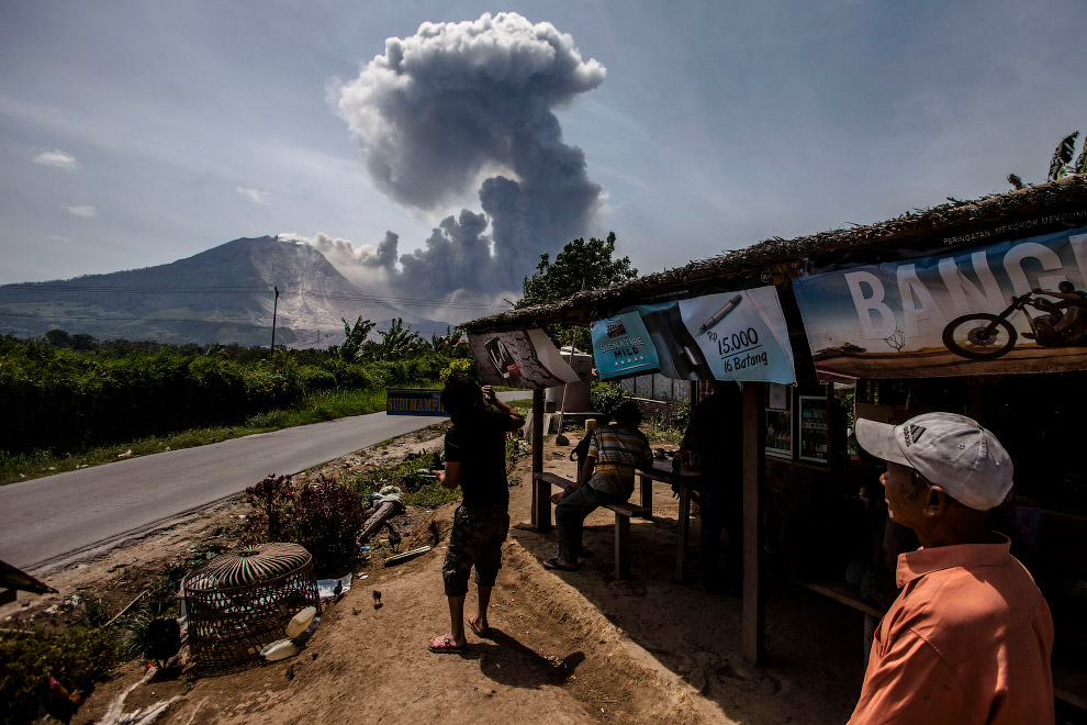 извержения вулкана Баруджари