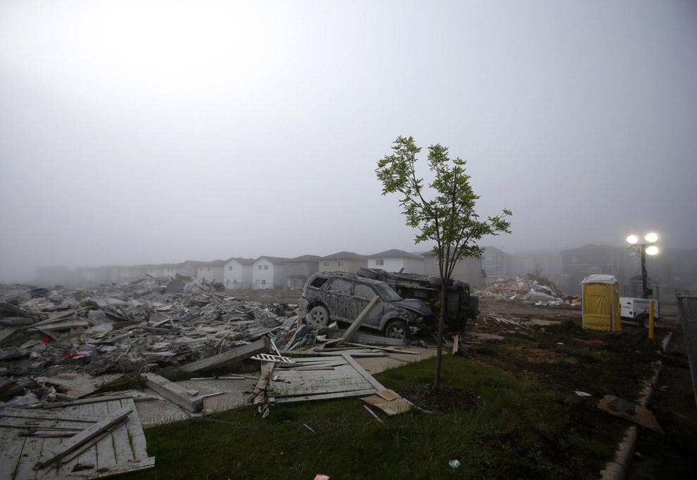 Подлежащие возмещению убытки от майских пожаров в провинции Альберта