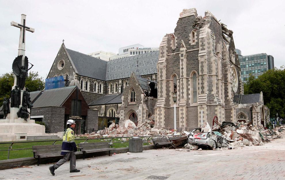 Землетрясение магнитудой 7,9 произошло 14 ноября в Новой Зеландии