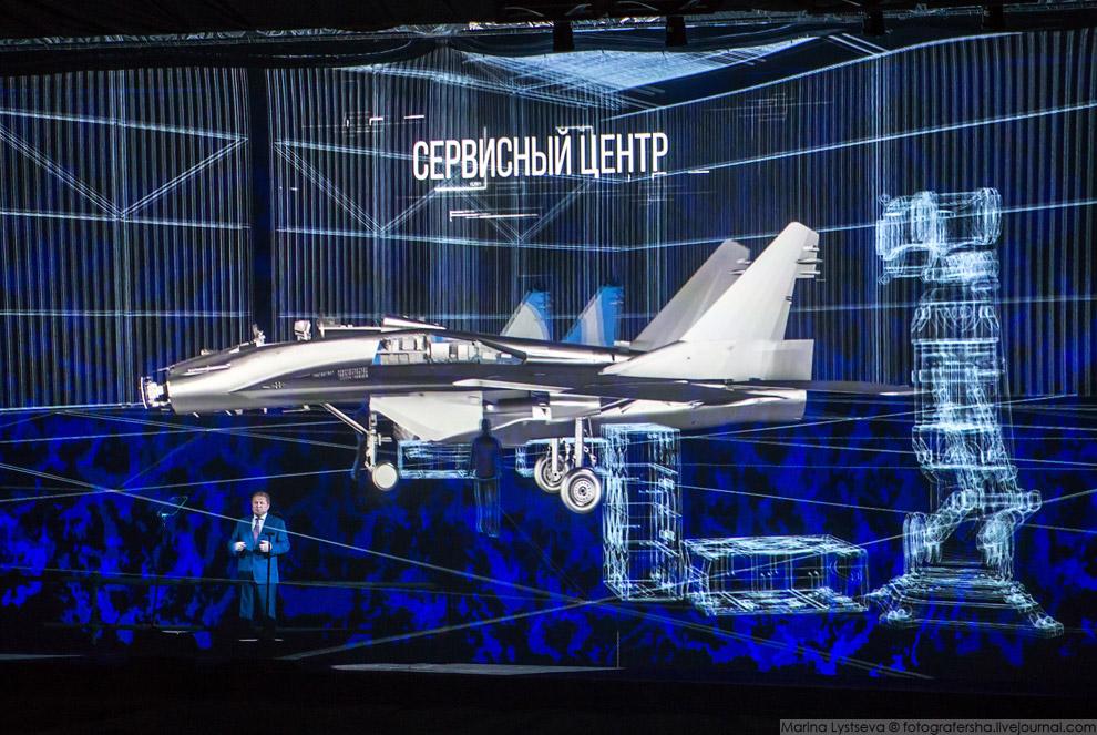 Генеральный конструктор Объединенной авиастроительной корпорации (ОАК) Сергей Коротков
