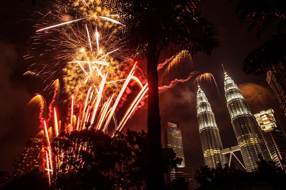 Встреча Нового года в Куала-Лумпур, Малайзия